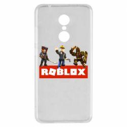 Чехол для Xiaomi Redmi 5 Roblox Heroes