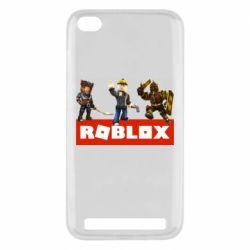 Чехол для Xiaomi Redmi 5A Roblox Heroes