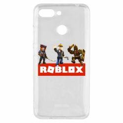 Чехол для Xiaomi Redmi 6 Roblox Heroes