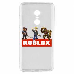 Чехол для Xiaomi Redmi Note 4 Roblox Heroes