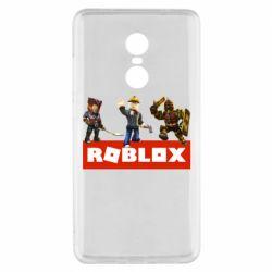 Чехол для Xiaomi Redmi Note 4x Roblox Heroes
