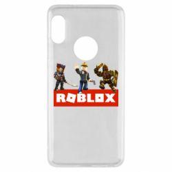 Чехол для Xiaomi Redmi Note 5 Roblox Heroes