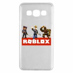 Чехол для Samsung A3 2015 Roblox Heroes