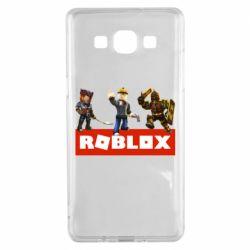 Чехол для Samsung A5 2015 Roblox Heroes
