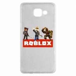 Чехол для Samsung A5 2016 Roblox Heroes