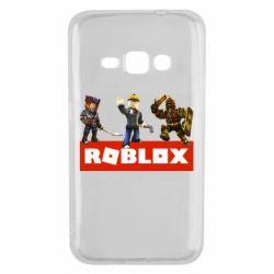 Чехол для Samsung J1 2016 Roblox Heroes