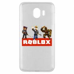 Чехол для Samsung J4 Roblox Heroes