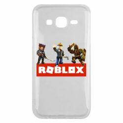 Чехол для Samsung J5 2015 Roblox Heroes