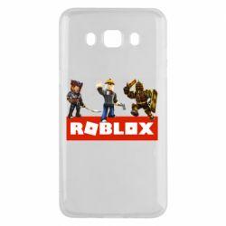 Чехол для Samsung J5 2016 Roblox Heroes