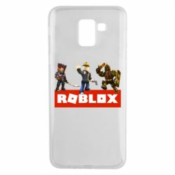 Чехол для Samsung J6 Roblox Heroes