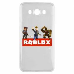 Чехол для Samsung J7 2016 Roblox Heroes