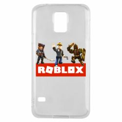 Чехол для Samsung S5 Roblox Heroes
