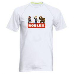 Мужская спортивная футболка Roblox Heroes