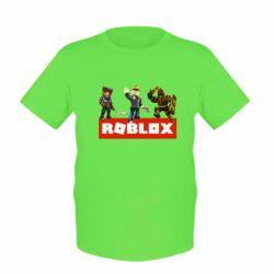 Детская футболка Roblox Heroes