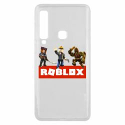 Чехол для Samsung A9 2018 Roblox Heroes