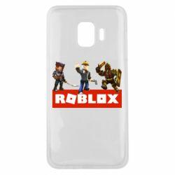 Чехол для Samsung J2 Core Roblox Heroes