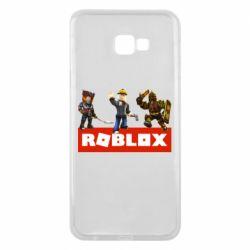 Чехол для Samsung J4 Plus 2018 Roblox Heroes