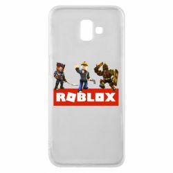 Чехол для Samsung J6 Plus 2018 Roblox Heroes