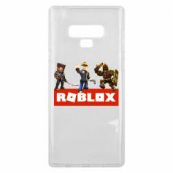 Чехол для Samsung Note 9 Roblox Heroes