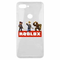 Чехол для Xiaomi Mi8 Lite Roblox Heroes