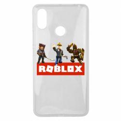 Чехол для Xiaomi Mi Max 3 Roblox Heroes