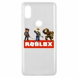 Чехол для Xiaomi Mi Mix 3 Roblox Heroes