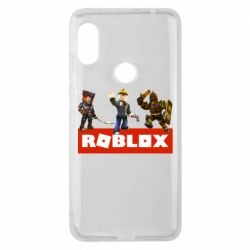 Чехол для Xiaomi Redmi Note 6 Pro Roblox Heroes