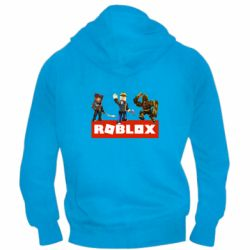 Мужская толстовка на молнии Roblox Heroes