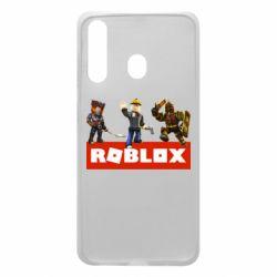 Чехол для Samsung A60 Roblox Heroes
