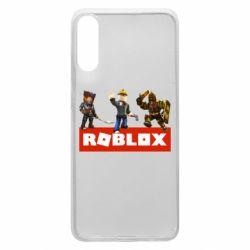 Чехол для Samsung A70 Roblox Heroes