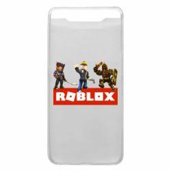 Чехол для Samsung A80 Roblox Heroes