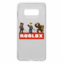 Чехол для Samsung S10e Roblox Heroes