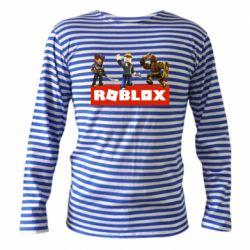 Тельняшка с длинным рукавом Roblox Heroes