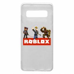 Чехол для Samsung S10 Roblox Heroes