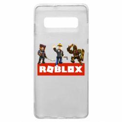 Чехол для Samsung S10+ Roblox Heroes