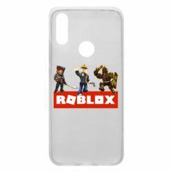 Чехол для Xiaomi Redmi 7 Roblox Heroes