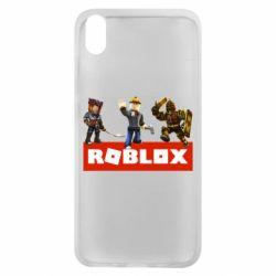 Чехол для Xiaomi Redmi 7A Roblox Heroes