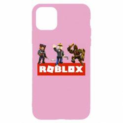 Чехол для iPhone 11 Roblox Heroes