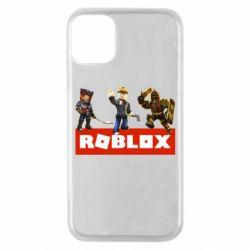 Чехол для iPhone 11 Pro Roblox Heroes