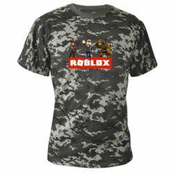 Камуфляжная футболка Roblox Heroes