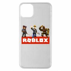Чехол для iPhone 11 Pro Max Roblox Heroes