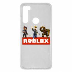 Чехол для Xiaomi Redmi Note 8 Roblox Heroes