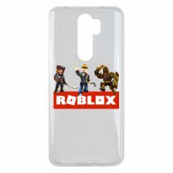 Чехол для Xiaomi Redmi Note 8 Pro Roblox Heroes