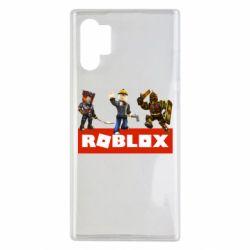 Чехол для Samsung Note 10 Plus Roblox Heroes