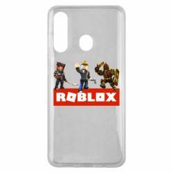 Чехол для Samsung M40 Roblox Heroes
