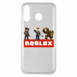Чехол для Samsung M30 Roblox Heroes