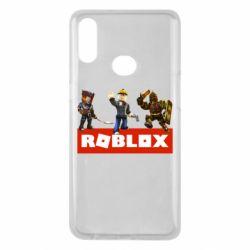 Чехол для Samsung A10s Roblox Heroes