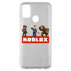 Чехол для Samsung M30s Roblox Heroes