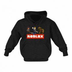 Детская толстовка Roblox Heroes