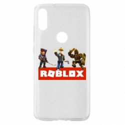 Чехол для Xiaomi Mi Play Roblox Heroes